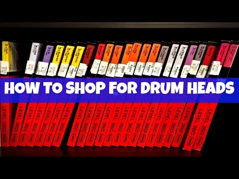 HOW TO SHOP FOR DRUM HEADS - What To Look For