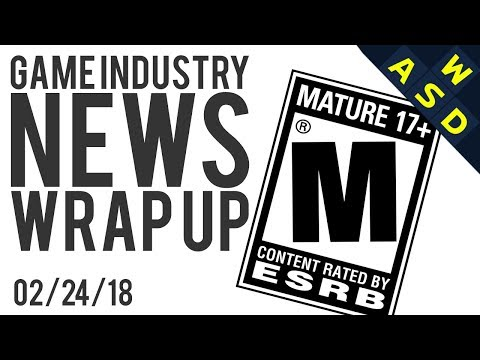 Taxing Mature Rated Games To Prevent Violent Children? | News Wrap Up