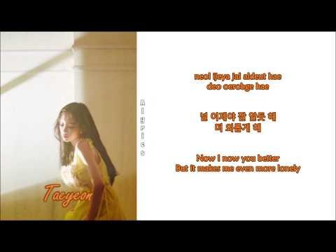 Free Download Taeyeon - Lonely Night (rom-han-eng Lyrics) Mp3 dan Mp4
