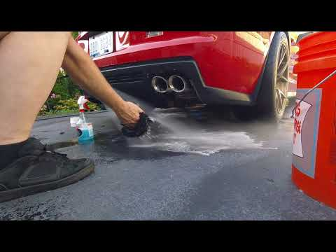 Exhaust Tip Cleaning Made Easy