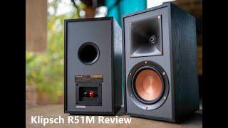 Klipsch R-51M Review - Sub $150 Beast