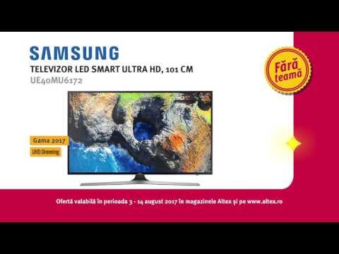 Reclama Altex - Televizor LED Smart Ultra HD, 101cm, SAMSUNG