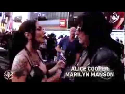 Affliction Halestorm, Marilyn Manson, and Alice Cooper meet  Hell On Wheels Part 1