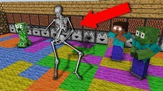 Monster School  Dancing Competition - Minecraft Animation