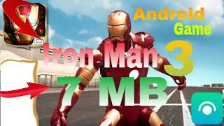 ( 7 MB ) Iron Man 3 Android Game High 4k ENB Graphic Game Download & Install Game Full ! Hindi