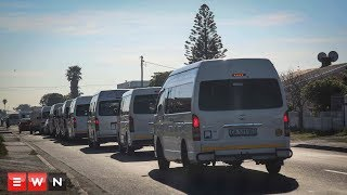 The disruptive and violent taxi strike has been called off in the Cape. This follows a meeting between representatives from the taxi industry and the provincial Transport Department.  Click here to subscribe to Eyewitness news:http://bit.ly/EWNSubscribe  Like and follow us on:http://bit.ly/EWNFacebook ANDhttps://twitter.com/ewnupdates  Read full article on Eyewitness news:http://ewn.co.za/2017/09/18/commuters-frustrated-as-taxi-strike-continues-in-ct  Keep up to date with all your local and international news:www.ewn.co.za  Produced by: Cindy Archillies