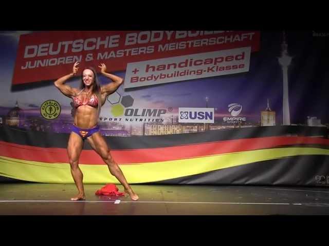 Gastauftritt Nathalie Falk - Deutsche Junioren & Masters Meisterschaft Berlin 2015