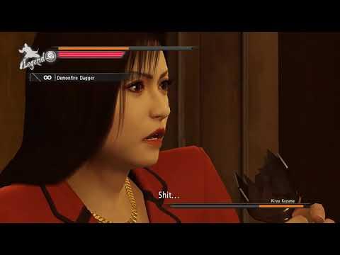 Yakuza 0 Kiryu Boss Fight Mod |