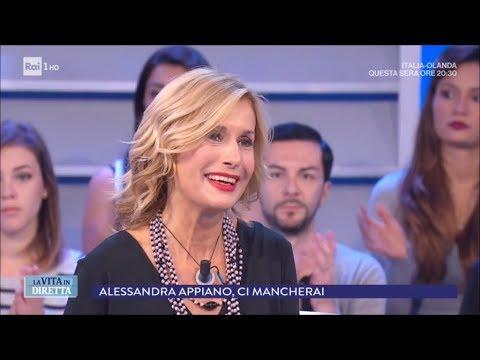 Addio ad Alessandra Appiano, ci mancherai - La vita in diretta 04/06/2018