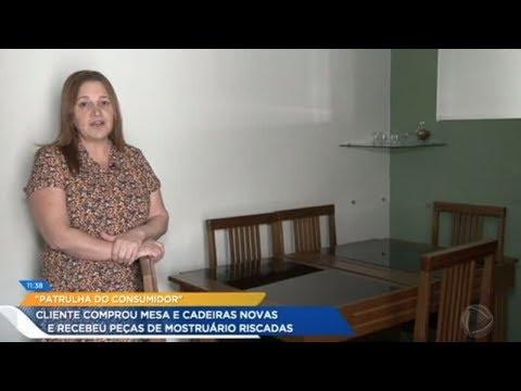 Patrulha Do Consumidor: Loja Entrega Mesa E Cadeiras Novas Para Consumidora