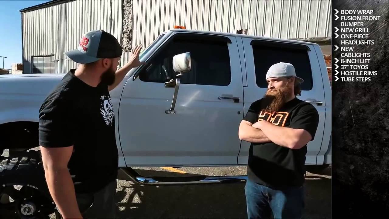BUILT DIESEL 3: OBS Powerstroke Truck Modifications - YouTube