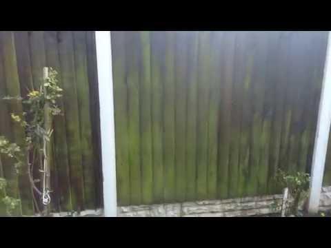Patio Magic Treatment On Garden Fence
