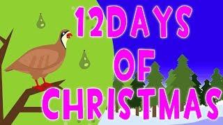 doze dias de natal | canções de Natal | nfeliz Natal | crianças canções | Twelve days of christmas