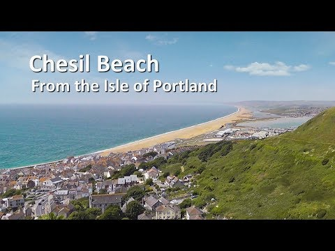 Chesil Beach from the Isle of Portland