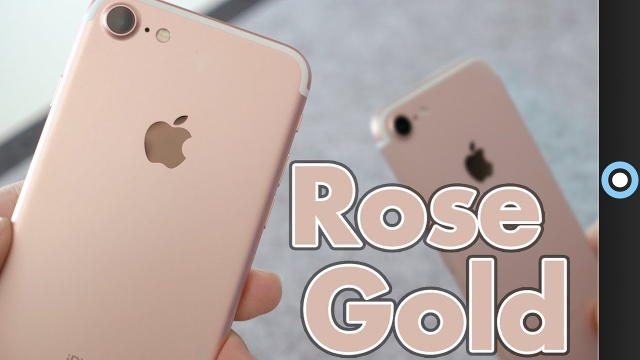 iphone rose gold gold iphone 7 unboxing amp impressions 1255