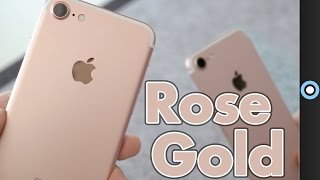 Rose Gold iPhone 7 Unboxing & First Impressions!