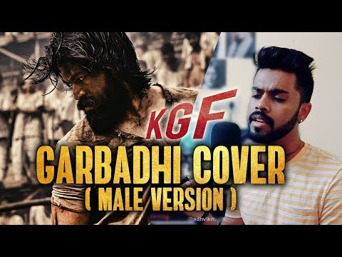 KGF - GARBADHI | Ananya Bhat, Ravi Basrur, Yash (Male Cover) Mp3