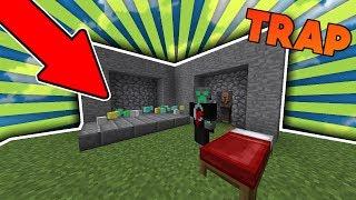 MOST AMAZING TRAP   Minecraft Bed Wars