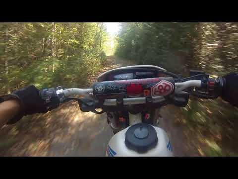 Dirt Bike Trail Riding in Northern Ontario!! HONDA XR250L & Foreman300!!