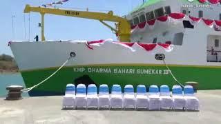 Video Diresmikan Bupati Sumenep, begini kemewahan kapal DBS III.. download MP3, 3GP, MP4, WEBM, AVI, FLV November 2018