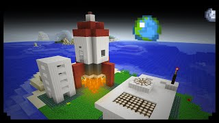 ✔ Minecraft: How to make a Rocket Station