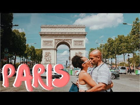 Meeting My Husband in PARIS!!! France Travel Vlog | Ep. 1 | @illustratedbySade