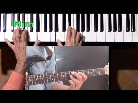 Lezione di Piano n.116: 'The shadow of your smile', bitutorial