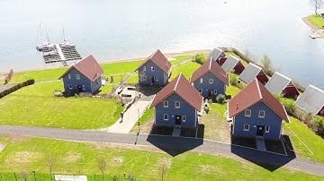 Bau zweier Ferienhäuser am Sorpesee