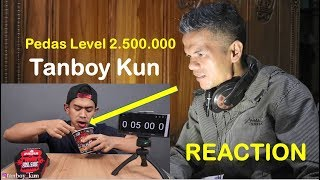 "Gambar cover TANBOY KUN MAKAN PAQUI ASLI PAKE MIE GHOST PEPPER - LVL 2.500.000 -""reaction"""