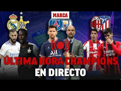 Download PSG - Manchester City, Real Madrid - Sheriff, Milan - Átlético EN DIRECTO I UCL EN VIVO