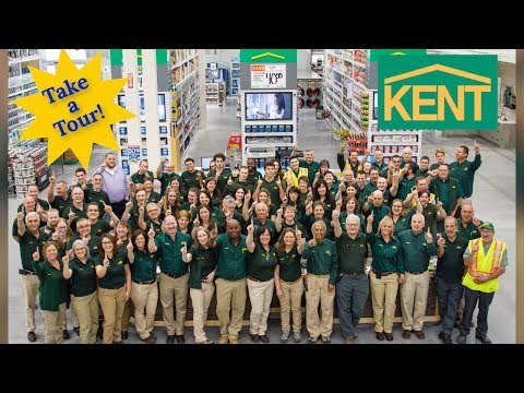 Newest And Biggest KENT Home Improvement Box Store In Canada