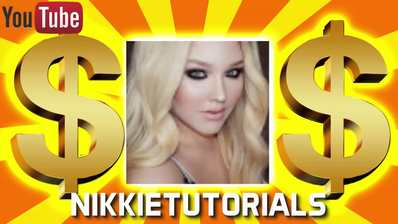 How Much Money Does Nikkietutorials Make On Youtube 2017 {youtube Earnings}