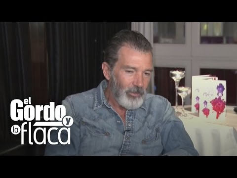 En exclusiva: Antonio Banderas platica con Tania Charry