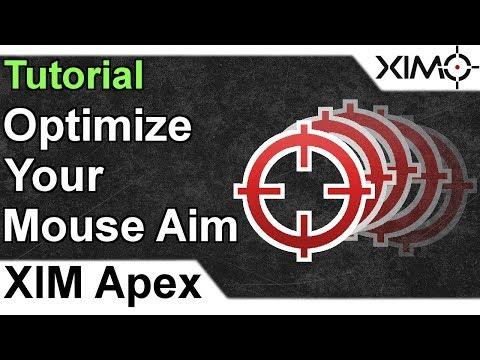 XIM APEX - Optimize Your Mouse Aim Tutorial - YouTube