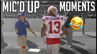 "NFL Funniest ""Mic'd Up"" Moments Of The 2017-2018 Season (Funny)"