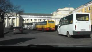 Автонакат - Урок автовождения в нашем городе Санкт- Петербурге.