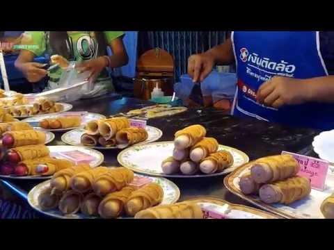 Street food Thai dessert Phuket Thailand