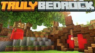 Truly Bedrock - S1 E13 - Traquility Garden of Ideas & Hobbiton Pagodas? - Minecraft SMP