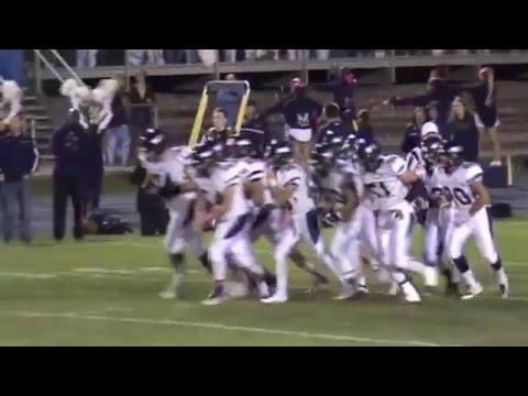 2015 Columbine Rebels High School Football highlights
