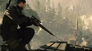 US Sniper in Incredible Secret Mission ! WW2 Game on PC Sniper Elite 4