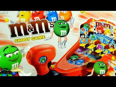 видео: m&ms (ммдемс) Супер игра стрелялка 2015 (super shooter game) детский канал