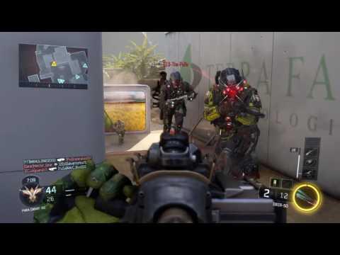 Call of Duty Black Ops 3  Probando el nuevo franco DBRS-50