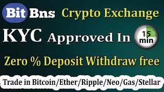 Best CryptoCurrency Exchange in India   BitBNS Exchange Full Review   Registration & KYC Process