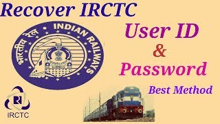 Recover IRCTC User ID (Login Id)