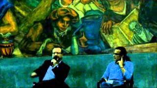 Conferencia de William Ospina en la Institución Universitaria Colegio Mayor de Antioquia