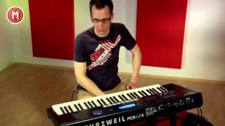 Kurzweil PC3LE6 im Test auf MusikMachen.de
