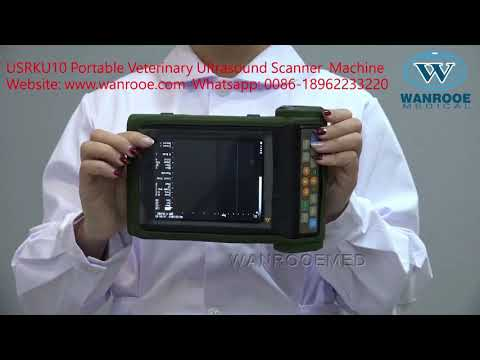 USRKU10 Medical Equipment Portable Veterinary Ultrasound Scanner,PET Ultrasound Scanner