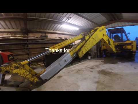 Jcb 3cx Backhoe repair