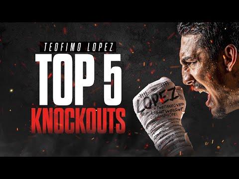 Top 5 Teofimo Lopez Knockouts
