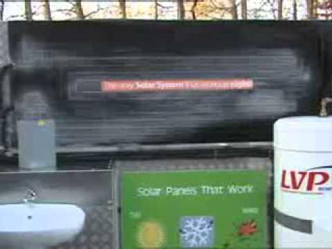 Energie® Thermodynamic Solar Energy  - (TV3, 2010) Ireland